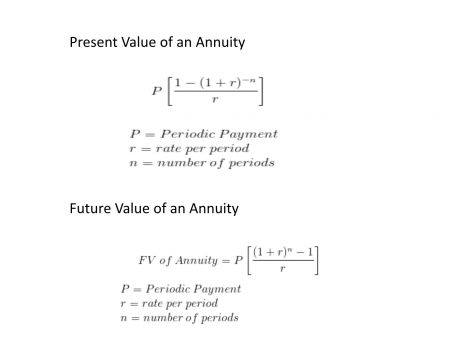 how do you calculate annuities